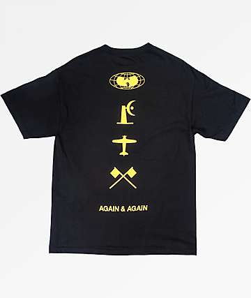 Wu Wear Four Icons Black T-Shirt