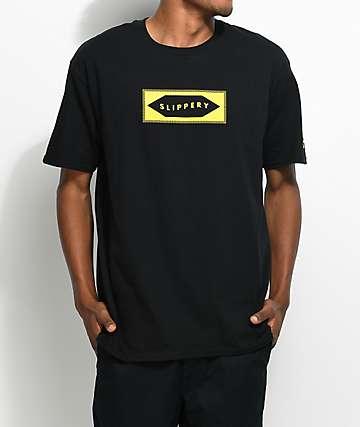 YRN Slippery Black T-Shirt