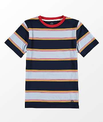Zine Boys Bonus Blue Stripe T-Shirt