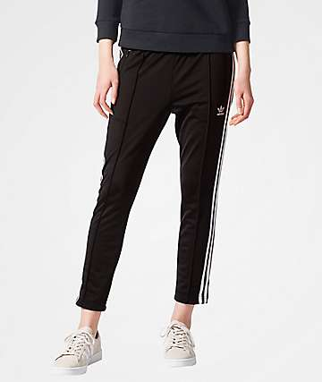 adidas Cigarette Black Pants