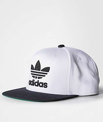 adidas OC Trefoil Chain Black & White Snapback Hat