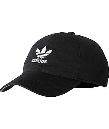 adidas Originals Relaxed Black Strapback Hat