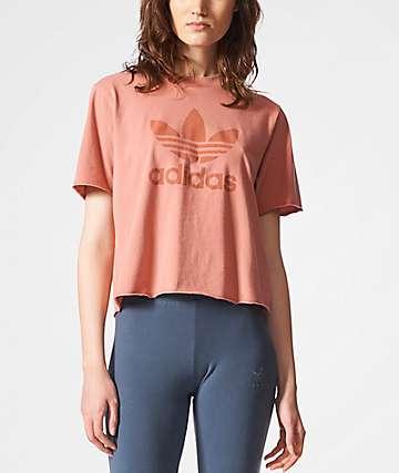 adidas Trefoil Peach T-Shirt
