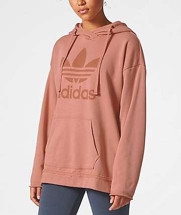 adidas Trefoil Raw Pink Hoodie