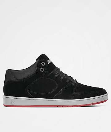 eS Accel Slim Mid Wade DesArmo Black Skate Shoes