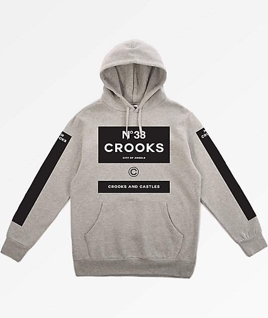 Crooks and castles hoodies cheap