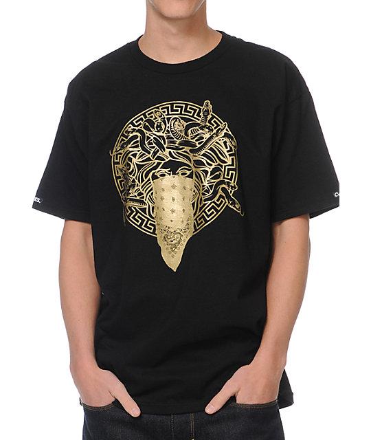 crooks and castles primo black tshirt