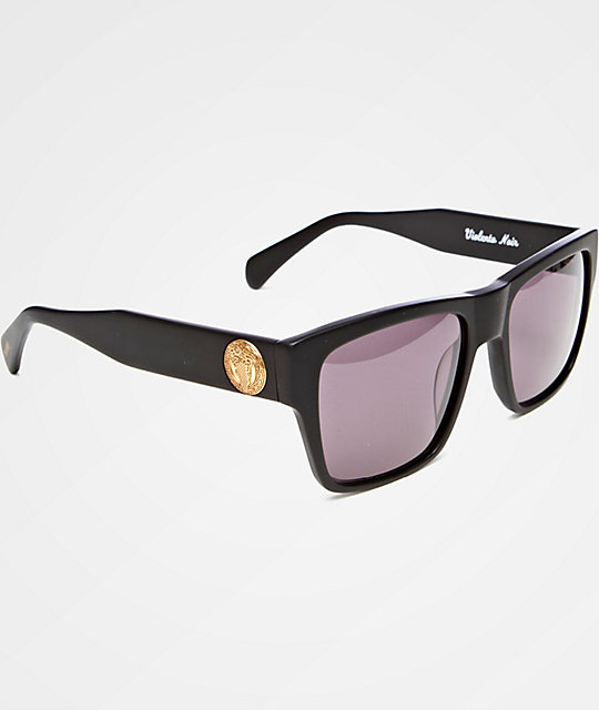 4b245cb9aac49 Crooks and Castles Violento Black   Gold Sunglasses