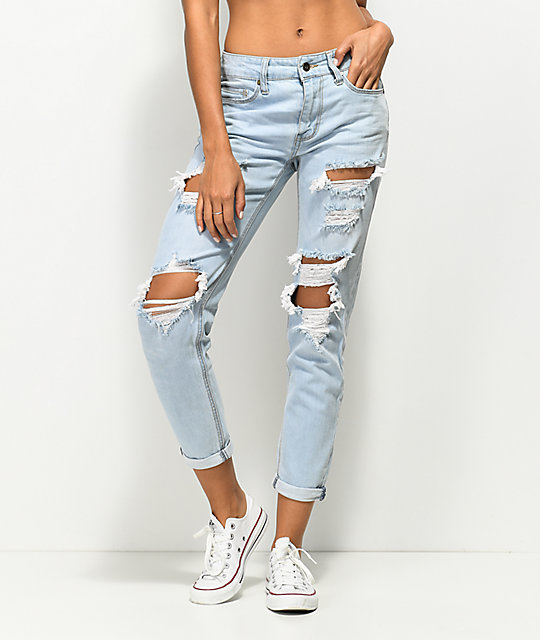 boyfriend jeans zerrissen sexy summer high waist ripped. Black Bedroom Furniture Sets. Home Design Ideas