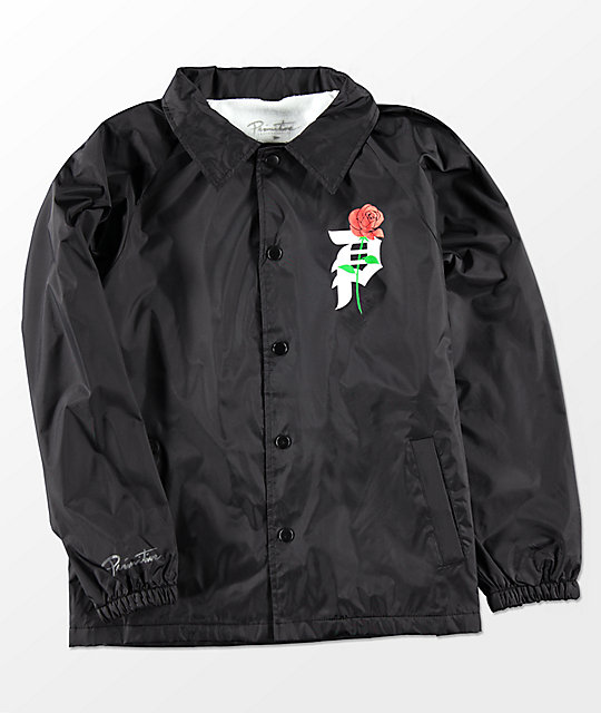 Boys Heartbreakers Black Coaches Jacket