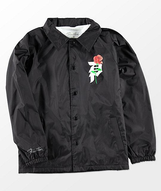 Primitive Boys Heartbreakers Black Coaches Jacket