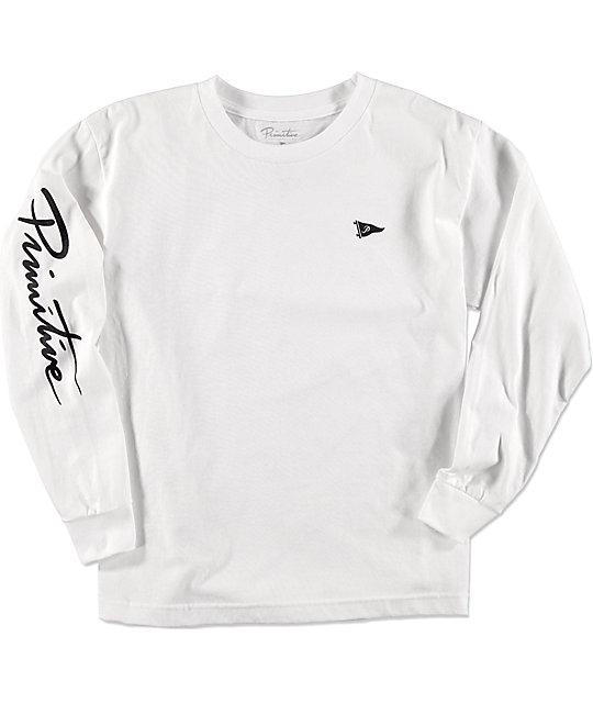 Primitive Pennant Nuevo Boys Long Sleeve T-Shirt