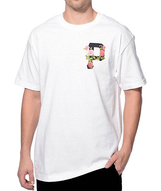 Primitive Slab Rose White T-Shirt