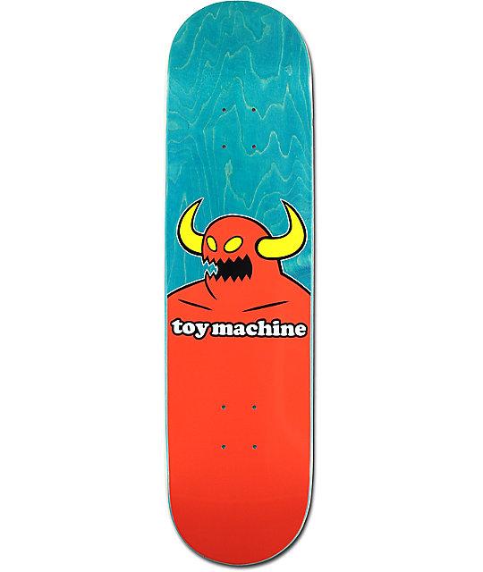 """Toy Machine Monster 8.12"""" Skateboard Deck"""