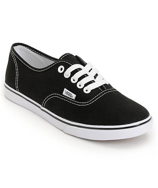 vans womens shoes black