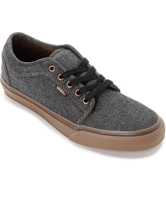dab78ce28ab46d Buy vans shoes gray and black