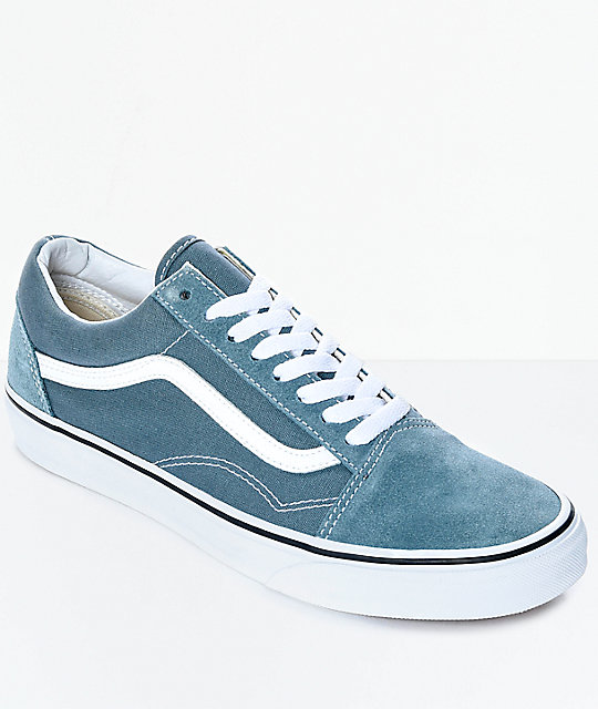 vans old skool goblin blue white skate shoes. Black Bedroom Furniture Sets. Home Design Ideas