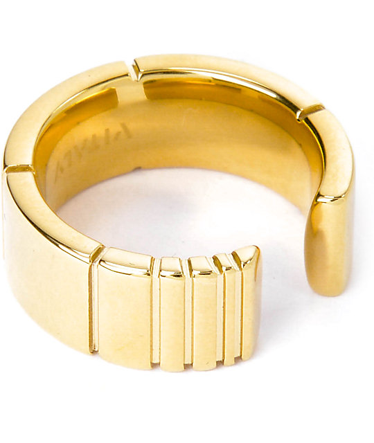 vitaly sector x gold ring