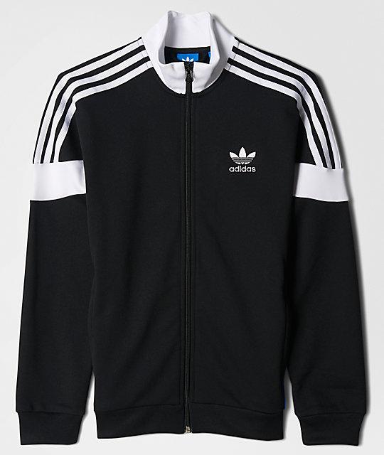 Clr84 Black, White & Blue Track Jacket
