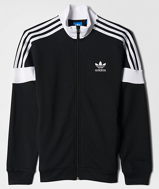 Clr84 Black, White & Blue Track Jacket