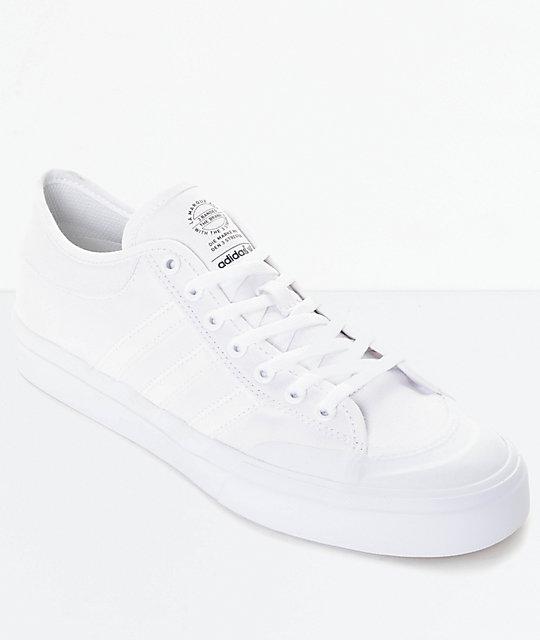 adidas mens shoes. adidas matchcourt all white shoes mens h