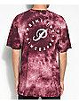 Primitive Orbit Crystal Washed Burgundy T-Shirt