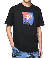 Primitive Rose Out Black T-Shirt