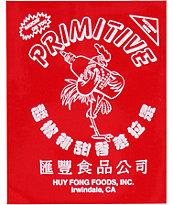 Primitive X Huy Fong Logo Sticker