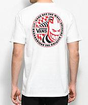 Vans X Spitfire White T-Shirt