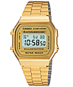 Casio A168WG-9 Vintage Gold Watch