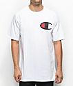 Champion Heritage Big C Patch White T-Shirt