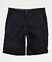 Freeworld Discord Black Chino Shorts