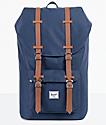 Herschel Supply Co. Little America Navy & Tan Backpack