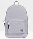 Herschel Supply Co. Settlement Light Grey Crosshatch Backpack