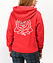 Obey Mira Mosa Red Hoodie
