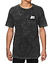 RIPNDIP Lord Nermal Pocket Black Mineral Wash T-Shirt