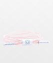 Rastaclat x Keep A Breast Virtue Pink & White Multi Lace Bracelet