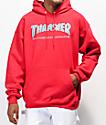 Thrasher Skate Mag Radical Red Pullover Hoodie