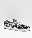 Vans Era Forgotten Bones Black & White Skate Shoes