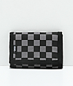 Vans Slipped Black & Charcoal Trifold Wallet
