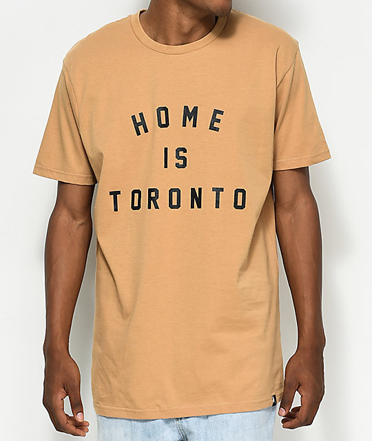 Peace Collective Home Is Toronto Sand T-Shirt